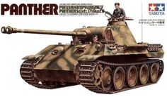 Tamiya German Panther 1/25 Scale Classic Model Series. (No Motor) Have this unbuilt model.