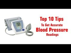 Know top 10 precautions which we must take to get accurate blood pressure readings on blood pressure monitor at home.
