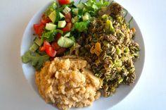 Paljon ruokaa vähemmällä kalorimäärällä | Ainon blogi - Tarinoita treenaamisesta