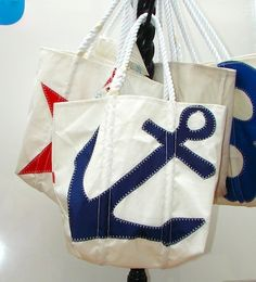 Sea Bags...def want one - just need to figure out my design!