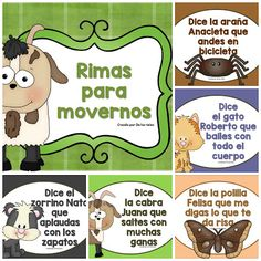 Spanish Classroom Activities, Preschool Spanish, Spanish Lessons For Kids, Gross Motor Activities, Preschool Activities, Spanish Christian Music, Teacher Must Haves, Spanish Songs, Brain Gym