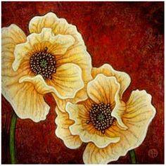 Galerie de pavot d'Amy E. Fraser [Peintures pavot]