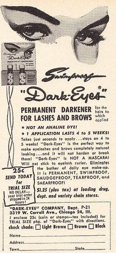 1961 Cosmetics Ad, D
