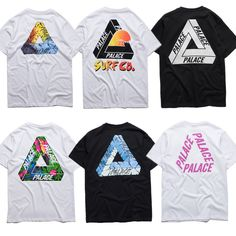 Palace T shirt Men 1:1 High Quality Palace Skateboards T-Shirts 100% Cotton Summer Style Short Sleeve Causal Tee Palace T shirt