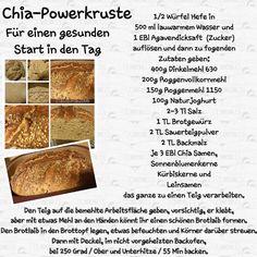 Kochen und backen mit Claudia: Chia-Powerkruste