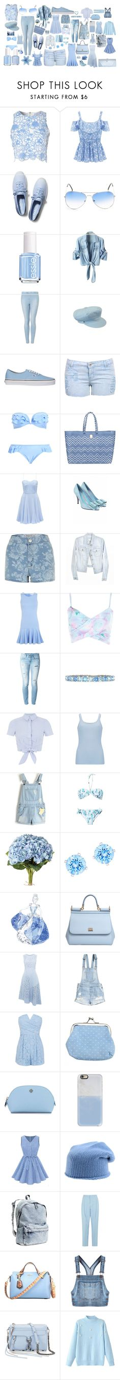"""""""Periwinkle Things!!"""" by redheadmahomiemidnightredaustin ❤ liked on Polyvore featuring True Decadence, Keds, Essie, Topshop, Vans, Joie, Forever New, Miss Selfridge, River Island and Dondup"""