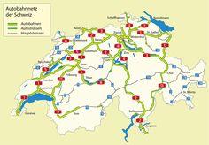 Autobahnnetz schweiz - Schweiz – Wikipedia