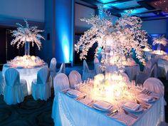 Cinderella themed table
