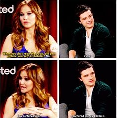 Jen and Josh—he's funny!