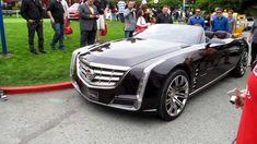"Cadillac Ciel ""4-Door Convertible"" unloads at Pebble Beach - YouTube"