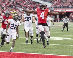 Curtis Samuel Ohio State Buckeyes Photo #1 (Choose Size)