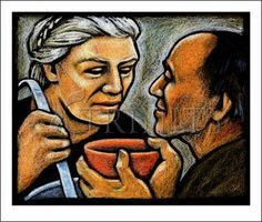 Dorothy Day Feeding the Hungry Liberation Theology, Work For The Lord, Dorothy Day, Catholic Kids, Scratchboard, Pencil Illustration, Religious Art, Box Art, Art Images
