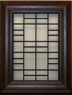 Home window iron grill designs ideas grills and for Modern zen window grills design