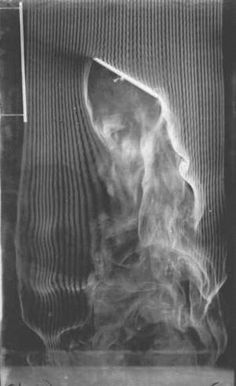 """Étienne-Jules Marey. """"60 degree angle, fourth and last version of the smoke machine"""", 1901"""