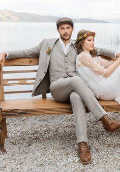 Digel Vintage Hochzeits- Anzug Robin