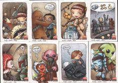 star wars galaxy5 cards3 by katiecandraw.deviantart.com on @deviantART
