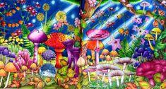 #rhapsodyintheforest #rhapsodyintheforestcoloringbook #egusakanoko #kanokoegusa #adultcoloring #adultcoloringbook #desenhoscolorir #bayan_boyan #divasdasartes#arte_e_colorir #prismacolor #coloring