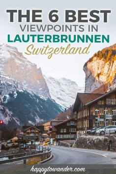 of the best things to do in Lauterbrunnen, Switzerland is finding the best views! This guide walks you through how to find the best views in Lauterbrunnen, the best hikes in the Lauterbrunnen Valley, along with beautiful Lauterbrunnen photography. Thun Switzerland, Locarno Switzerland, Switzerland Hiking, Blausee Switzerland, Switzerland Summer, Switzerland Travel Guide, Grindelwald Switzerland, Switzerland Itinerary, Places In Switzerland