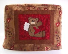 Valentine Toaster Cover  2 slice toaster cover by PatsysPatchwork, $18.00