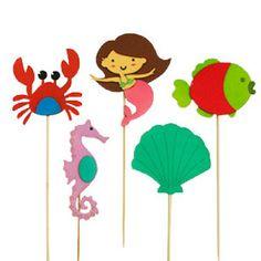 Little Mermaid Props 2/ Kids party decor/ Bugzplaypark/ Cape Town