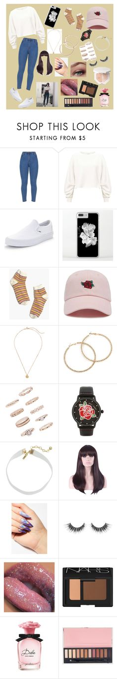 """""""Untitled #1"""" by robert-xlii ❤ liked on Polyvore featuring Miss Selfridge, Vans, Madewell, Forever 21, Betsey Johnson, Vanessa Mooney, WithChic, NARS Cosmetics and Dolce&Gabbana"""