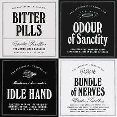 DIY printable labels for Apothecary Bottles by SparrowlingPress, $2.00  #halloween #steampunk #victorian