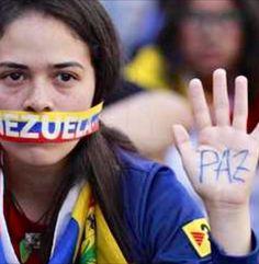 S.O.S. Venezuela. Peace. #prayforvenezuela