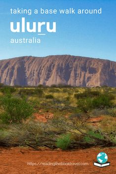 Thousands flock to Uluru every year; but how do you get a different perspective on this famous rock? Simple: take an Uluru base walk. Australia Travel Guide, Visit Australia, Western Australia, Travel Advice, Travel Guides, Travel Tips, Australian Icons, Ayers Rock, New Zealand Travel