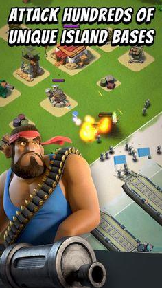 Nhắc đến những tựa game chiến thuật trên mobile chúng ta không thể không nhắc đến 2 cái tên đó là Boom Beach và Clash of Clan