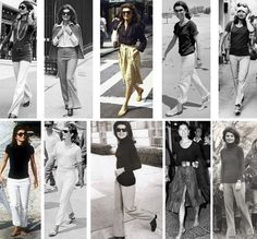 Jackie Kennedy in casual kleding.