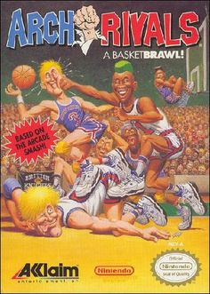 For Arch Rivals: A Basket Brawl! on the NES, a box shot for the EU - release on GameFAQs. Number Song, New Number, Basketball Skills, Basketball Court, Game Of The Day, Normal Life, Entertainment System, Family Games, Bollywood News