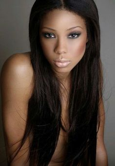 Beautiful relaxed hair #HairCrush