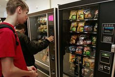 Vending Machines Try Electronic Self-Defense