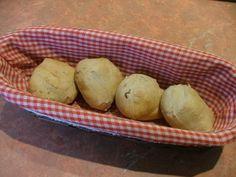 Petits pains à la farine de chataignes, figues et noisettes