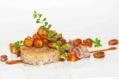 Lacquered Pork and Beans with Concon