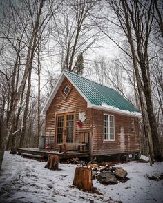 Cabins Daily #TinyCabins