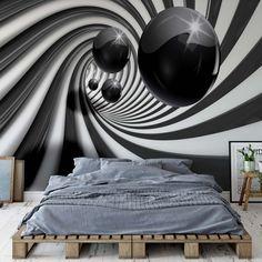 Engedd szabadon a fantáziád és dekoráld otthonod egy különleges térhatású fotótapétával. Photo Wallpaper, Wall Wallpaper, Textile Texture, Blue Back, Cutting Tables, Orange Fashion, Wall Murals, Digital Prints, Colours