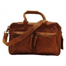 Cowboysbag Luiertas Diaperbag Cognac - $139.95