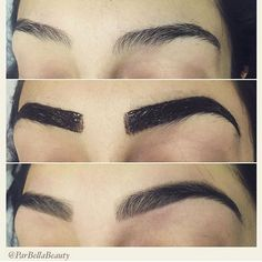 by @archaddicts • brow tinting its lit https://www.instagram.com/p ...