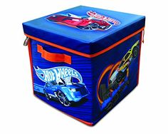 The spacious Hot Wheels ZipBin 300 Car Storage Cube is the innovative way to store an entire Hot Wheels collection. It can hold up to 300 vehicles or a combination of vehicles and track. The box unzip...
