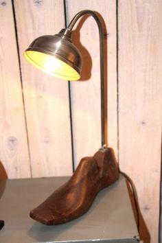 Lampe atypique du Comptoir d'Influences à Saint-Étienne