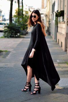 black dress #modestfashion