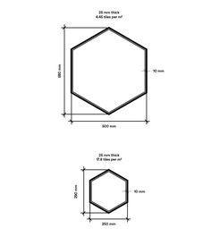 Tiles Hexagon | BAUX