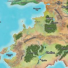 Maps Of Golarion: An Unofficial Google Map Of The Inner Sea