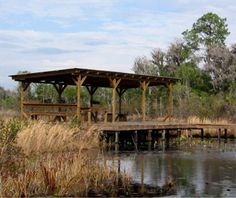 Camping Shelters, Okefenokee National Wildlife Refuge,Georgia - America's Most Scenic Campgrounds | Travel + Leisure