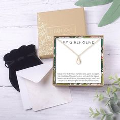 Gift for Girlfriend from Boyfriend Necklace: Anniversary, Valentine's Day, Birthday, Christmas, Thank You, Love You Present– Dear Ava Mother Christmas Gifts, Mother Gifts, Holiday Gifts, Gifts For Boss, Gifts For Friends, Bff Necklaces, Compass Necklace, Necklace For Girlfriend, Soul Sisters