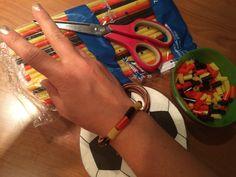 Deutschland WM-Armband DIY aus Trinkhalmen schnell selbst gemacht! Das perfekte Accessoire fürs Finale!!!