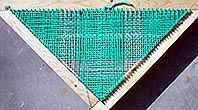 Wayne Schmidt's Triangle Loom Page. I will be making a shawl using this type of loom.
