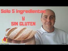 Pan de arroz casero SIN GLUTEN/Receta fácil y rápida/Escuela de panadería - YouTube Pizza Sin Gluten, Empanadas, Gluten Free Recipes, Baked Potato, Vegetarian, Bread, Cooking, Ethnic Recipes, Youtube