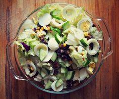Undressed Skeleton — Family Dinner Salad